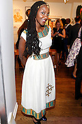 May 19, 2016-Brooklyn, NY: United States- Multimedia Artist Duhirwe Rushemeza attends the 2nd Annual (Museum of Contemporary African Diasporic Art (MoCADA) Masquerade Ball held at the Brooklyn Academy of Music on May 19, 2016 in Brooklyn, New York. (Terrence Jennings/terrencejennngs.com)