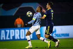 Raheem Sterling of Manchester City during football match between GNK Dinamo Zagreb and Manchester City in 6th Round of UEFA Champions league 2019/20, on December 11, 2019 in Maksimir, Zagreb, Croatia. Photo by Blaž Weindorfer / Sportida