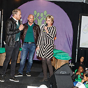 NLD/Almere/20150318 - Nationale Boomplantdag 2015, Prinses Laurentien, Jamai Loman en ............