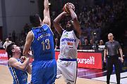 Marcus Landry<br /> Vanoli Cremona - Germani Leonessa Basket Brescia<br /> LegaBasket Serie A 2017/2018<br /> Cremona, 28/04/2018<br /> Foto M.Ceretti / Ciamillo-Castoria