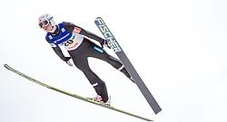 11.01.2014, Kulm, Bad Mitterndorf, AUT, FIS Ski Flug Weltcup, Bewerb, im Bild Rune Velta (NOR) // Rune Velta (NOR) during the FIS Ski Flying World Cup at the Kulm, Bad Mitterndorf, Austria on <br /> 2014/01/11, EXPA Pictures © 2014, PhotoCredit: EXPA/ JFK