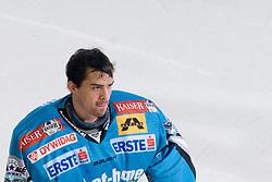 Alex Westlund (EHC Liwest Black Wings, #32) during ice-hockey match between HDD Tilia Olimpija and EHC Liwest Black Wings Linz in 37th Round of EBEL league, on Januar 9, 2011 at Hala Tivoli, Ljubljana, Slovenia. (Photo By Matic Klansek Velej / Sportida.com)