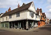 Tudor buildings, Silent Street, Ipswich, Suffolk, England