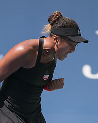 September 5, 2018 - Flushing Meadows, New York, U.S - NAOMI OSAKA wins her match against L. Tsurenko on Day 10 of the 2018 US Open at USTA Billie Jean King National Tennis Center on Wednesday in the Flushing neighborhood of the Queens borough of New York City.  Osaka defeats Tsurenko, 6-1, 6-1. (Credit Image: © Javier Rojas/Prensa Internacional via ZUMA Wire)