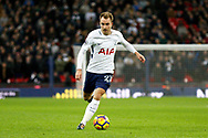 Tottenham Hotspur midfielder Christian Eriksen (23) during the Premier League match between Tottenham Hotspur and West Bromwich Albion at Wembley Stadium, London, England on 25 November 2017. Photo by Andy Walter.