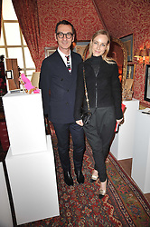 BRUNO FRISONI and  at a lunch hosted by Roger Viver in honour of Bruno Frisoni their creative director, held at Harry's Bar, 26 South Audley Street, London on 31st March 2011.