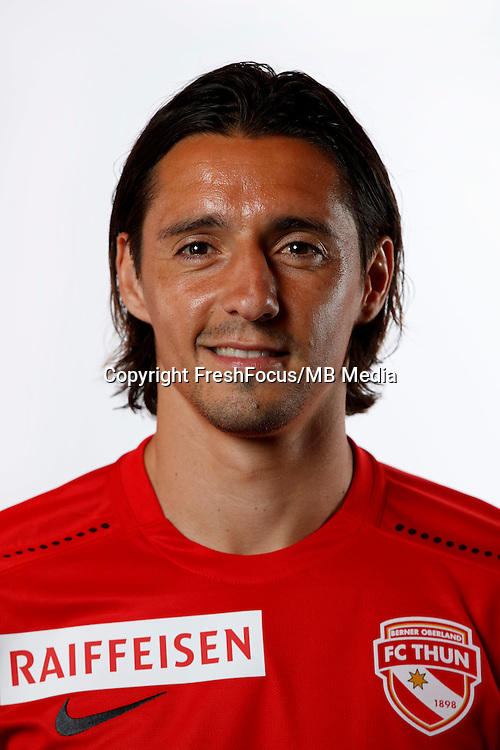01.07.2016;Thun; Fussball Super League - FC Thun; Nelson Ferreira (Thun) (Christian Pfander/freshfocus)