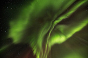 Northern lights over Iceland in early March 2016