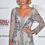 Nicole Evans attend Blackbird - World Premiere with Michael Flatley at May Fair Hotel, London, UK. 28th September 2018.