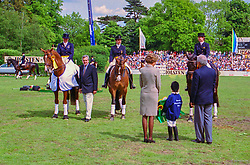 , Hamburger - Deutsches Spring- und Dressur-Derby 22. - 25.05.1997, Siegerehrung Dressur