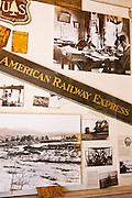 American Railroad Express historic photos, Mancos, Colorado