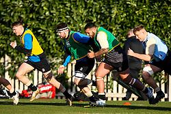 Alfie Petch and Kai Owen of England Under 20s  - Mandatory by-line: Robbie Stephenson/JMP - 08/01/2019 - RUGBY - Bisham Abbey National Sports Centre - Bisham Village, England - England Under 20s v  - England Under 20s Training