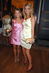 Left to right, ANDREA CATHERWOOD and TESS DALY at the Royal Academy of Arts Summer Exhibition Party at the Royal Academy, Piccadilly, London on 6th June 2007.<br /><br />NON EXCLUSIVE - WORLD RIGHTS