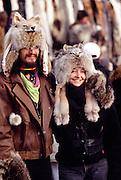 Couple, Fur Rondy, Anchorage, Alaska