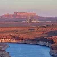 Navajo Generating Station, Lake Powell, Glen Canyon Dam, Page, UT