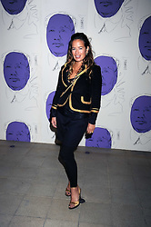 """JADE JAGGER at an exhibition of work by Andy Warhol entitled """"Other Voices, Other Rooms"""" at The Hayward Gallery, Southbank Centre, London SE1 on 6th October 2008."""