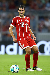 August 1, 2017 - Munich, Germany - Mats Hummels of Bayern during the second Audi Cup football match between FC Bayern Munich and FC Liverpool in the stadium in Munich, southern Germany, on August 1, 2017. (Credit Image: © Matteo Ciambelli/NurPhoto via ZUMA Press)