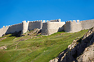 The ancient Uratian iron age fortress of Van, Van, Turkey .<br /> <br /> If you prefer to buy from our ALAMY PHOTO LIBRARY  Collection visit : https://www.alamy.com/portfolio/paul-williams-funkystock/lakevanturkey.html<br /> <br /> Visit our TURKEY PHOTO COLLECTIONS for more photos to download or buy as wall art prints https://funkystock.photoshelter.com/gallery-collection/3f-Pictures-of-Turkey-Turkey-Photos-Images-Fotos/C0000U.hJWkZxAbg .<br /> <br /> If you prefer to buy from our ALAMY PHOTO LIBRARY  Collection visit : https://www.alamy.com/portfolio/paul-williams-funkystock/van-fortress-turkey.html<br /> <br /> Visit our ANCIENT WORLD PHOTO COLLECTIONS for more photos to download or buy as wall art prints https://funkystock.photoshelter.com/gallery-collection/Ancient-World-Art-Antiquities-Historic-Sites-Pictures-Images-of/C00006u26yqSkDOM