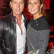 NLD/Hilversum/20151207- Sky Radio's Christmas Tree for Charity, Danny de Munk en partner Jenny
