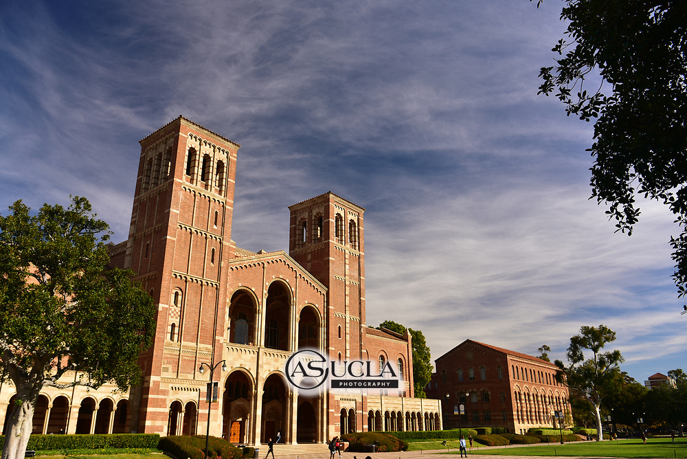 ASUCLA Photography Archive -  Exterior image of UCLA Royce Hall, UCLA Campus. University of California Los Angeles, Westwood, California.<br /> <br /> Copyright: ASUCLA