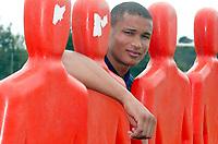 FOTBALL - FRENCH CHAMPIONSHIP 2003/2004 - LE MANS UC - 030627 - DANIEL COUSIN DURING THE LE MANS TRAINING IN LA PINCENARDIERE - PHOTO STEPHANE MANTEY / DIGITALSPORT