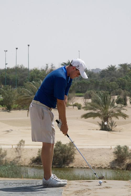 Abu Dhabi, United Arab Emirates (UAE). .March 20th 2009..Al Ghazal Golf Club..36th Abu Dhabi Men's Open Championship..Mathew Turner