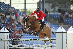 Bucci Piergiorgio, (ITA), Catwalk Z<br /> Team Competition round 1 and Individual Competition round 1<br /> FEI European Championships - Aachen 2015<br /> © Hippo Foto - Stefan Lafrentz<br /> 19/08/15