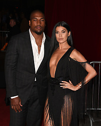 Larry English (L) and television personality Nicole Williams attend The 2017 Maxim Hot 100 at The Hollywood Palladium on June 24, 2017 in Hollywood, California.  (ISO) *** Please Use Credit from Credit Field ***