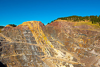 Homestake open cut gold mine, Lead (near Deadwood), Black Hills, South Dakota USA (founded by George Hearst, father of William Randolph Hearst)