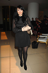 MARTINE McCUTCHEON at 'Not Another Burns Night' in association with CLIC Sargebt and Children's Hospice Association Scotland held at ST.Martins Lane Hotel, London on 3rd March 2008.<br />