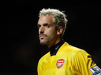 Photo: Jed Wee/Sportsbeat Images.<br /> Newcastle United v Arsenal. The FA Barclays Premiership. 05/12/2007.<br /> <br /> Arsenal's Manuel Almunia.