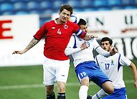 Fotball 1. juni 2012 , U21  Norge - Azerbaijan<br /> Norway - Azerbaijan<br /> Stefan Strandberg , Norge<br /> Abdulla Abasiyev , Azerbaijan