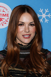 LOS ANGELES, CA, USA - NOVEMBER 14: The Stars Of Lifetime's Christmas Movies Celebrate The Opening Night Of Life-Sized Gingerbread House Experience held at The Grove on November 14, 2018 in Los Angeles, California, United States. 14 Nov 2018 Pictured: Danneel Ackles, Danneel Harris. Photo credit: Xavier Collin/Image Press Agency/MEGA TheMegaAgency.com +1 888 505 6342