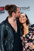 GOUD, 12-10-2020, Goudse Schouburg<br /> <br /> Premiere Off-Broadway musical Murder Ballad  in de Goudse Schouwburg in Gouda.<br /> <br /> Op de foto:  Romy Monteiro en partner Jasper Suyk