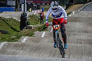 #24 (SAILER Sarah) GER during round 4 of the 2017 UCI BMX  Supercross World Cup in Zolder, Belgium.