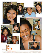 A composite produced on behalf of Penedo Charitable Organization, a group dedicated to the lives of ten at-risk girls for a ten year period.