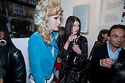 JODIE HARSH; BENOIT GRIMES, Launch party of the new Belvedere Black Raspberry Maceration Vodka hosted by Estelle and Jonathan Kelsey, at the Belvedere Pop-Up Shop. Mount St. London. 6 May 2009