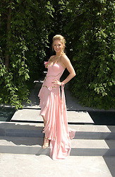 ANOUSKA DE GEORGIOU at the 2005 RHS Chelsea Flower Show on 23rd May 2005<br />