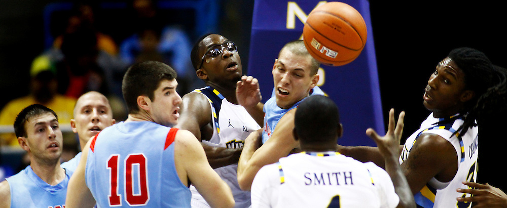 The Golden Eagles defeated the St. John's (Minnesota)Johnnies 86-56 in an exhibition game at the Bradley Center, Saturday, Nov. 6, 2010.