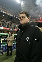 Milano 28-11-04<br /> <br /> Campionato di calcio Serie A 2004-05<br /> <br /> Inter Juventus<br /> <br /> nella  foto Fabio Capello Juventus Trainer<br /> <br /> Foto Snapshot / Graffiti