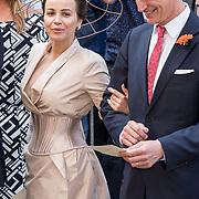 NLD/Den Haag/20170919 - Prinsjesdag 2017, Victoria Koblenko en ..............