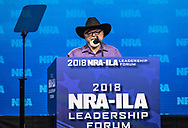 Stephen Willeford at the NRA-ILA Leadership Forum during the NRA Annual Meeting & Exhibits on <br /> May 4, 2018 in Dallas, Texas at the Kay Bailey Hutchison Convention Center.