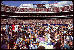 The Grateful Dead Live at Giants Stadium 02 September 1978. General coverage of the stage, fans, venue.