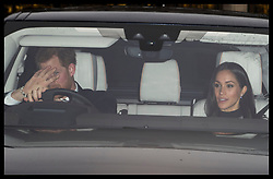 December 20, 2017 - London, London, United Kingdom - Image licensed to i-Images Picture Agency. 20/12/2017. London, United Kingdom. Prince Harry and Meghan Markle arriving for The Queen's Christmas lunch at Buckingham Palace in London. (Credit Image: © Stephen Lock/i-Images via ZUMA Press)
