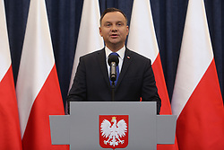 February 6, 2018 - Warsaw, Poland - Polish president Andrzej Duda to sign Holocaust bill, but will ask top court for opinion. (Credit Image: © FORUM via ZUMA Press)