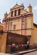 Messico,chapas,Vendita di amache nel centro di San Cristobal de las casas.Mexico, chapas, Sale of hammocks in the center of San Cristobal de las casas.