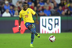 March 21, 2019 - Orlando, Florida, USA - Ecuador midfielder Jhegson Mendez (20) during an international friendly between the US and Ecuador at Orlando City Stadium on March 21, 2019 in Orlando, Florida. .The US won the game 1-0...©2019 Scott A. Miller. (Credit Image: © Scott A. Miller/ZUMA Wire)