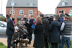 © Licensed to London News Pictures. 17/11/2015. Ibstock, Leicestershire, UK. Missing schoolgirl Kayleigh Hayward. Pictured, Detective Chief Superintendent David Sandall briefs the press. Photo credit : Dave Warren/LNP