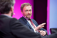 08 JAN 2018, KOELN/GERMANY:<br /> Christian Lindner, FDP Bundesvorsitzender, waehrend einer Diskussion, Jahrestagung 2018 des Deutschen Beamtenbundes und Tarifunion, dbb, Messe Koeln<br /> IMAGE: 20180108-01-276<br /> KEYWORDS: Köln