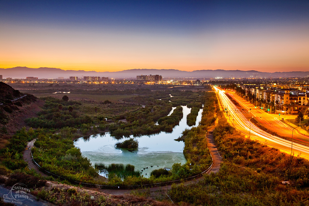Ballona Wetlands and Playa Vista Development, California